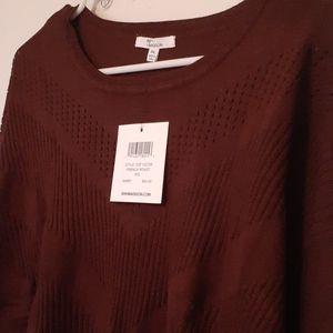 89th + Madison Maroon Sweater